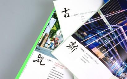 강남구청 지역홍보 브로슈어(brochure)
